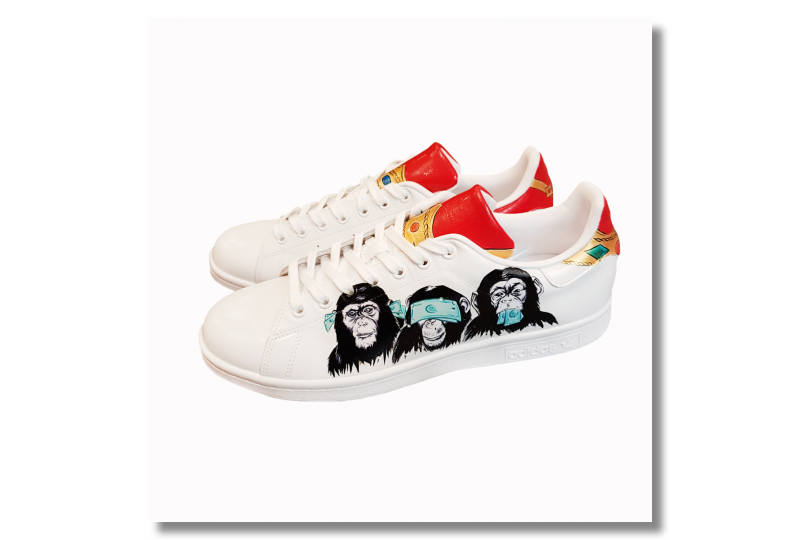 Adidas Stan Smith - Monkey...