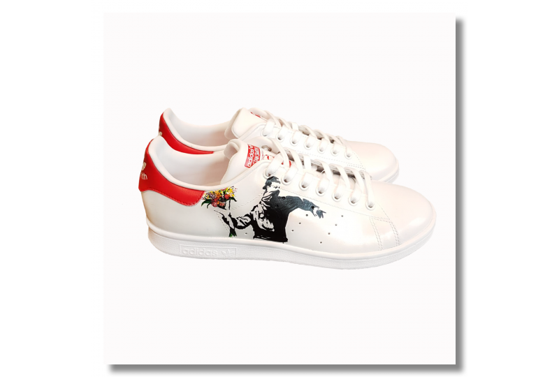Adidas Stan Smith - Banksy...