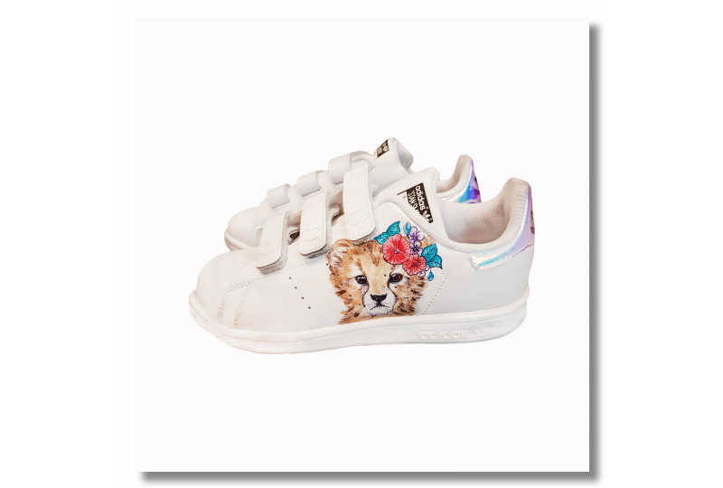 Adidas Stan Smith - Cheetah