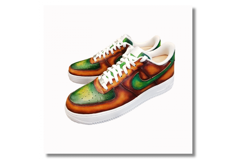 Nike Air force - Caramel X...