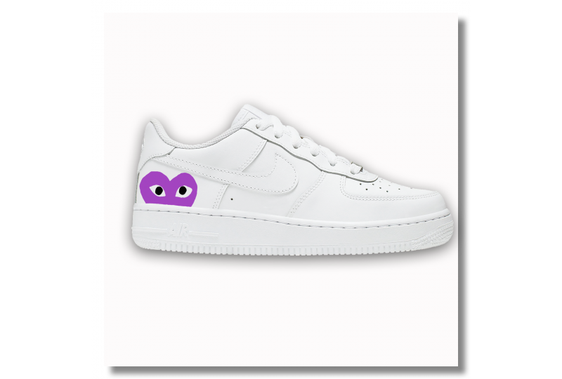 Nike Air Force - CDG Purple